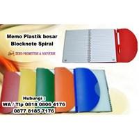 Beli Memo Plastik Besar Blocknote Spiral Agenda Promosi  4