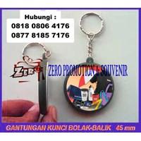 Beli  Barang Promosi Perusahaan Pin Gantungan Kunci 2 Sisi  4