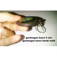 Distributor  Barang Promosi Perusahaan Pin Gantungan Kunci 2 Sisi  3