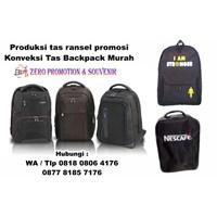 Jual Produksi Tas Ransel Promosi Konveksi Tas Promosi Backpack Murah  2