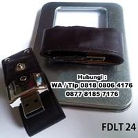 Beli Souvenir Usb Flash Disk Cover Kulit Fdlt24 Dengan Kancing  4