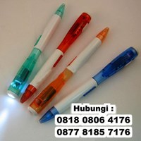 Distributor  Barang Promosi Perusahaan Senter Pulpen Penlight Led 3