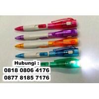 Jual  Barang Promosi Perusahaan Senter Pulpen Penlight Led 2
