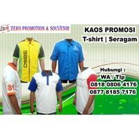 Barang Promosi Perusahaan Menyediakan Kaos Promosi  1