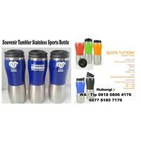 Distributor Souvenir Tumbler Stainless Sports Bottle Barang Promosi Perusahaan 3
