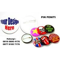 Barang Promosi Perusahaan Souvenir Pin Peniti  1