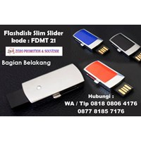Beli  Usb Flash Disk Souvenir Flashdisk Slim Slider Kode Fdmt 21  4