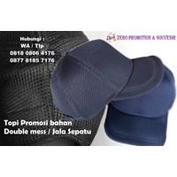 Distributor Buat Topi Promosi Bahan Double Mess  Jala Sepatu  3