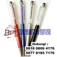 Barang Promosi Perusahaan Stylus Pen Kristal Untuk Souvenir  1