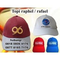 Jual Produksi Topi Promosi Bahan Raphel Topi Rafael  2