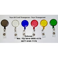 Jual  Barang Promosi Perusahaan Yoyo Id Card Transparan 2