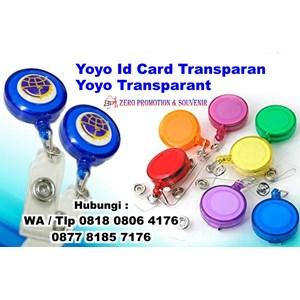Barang Promosi Perusahaan Yoyo Id Card Transparan