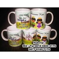Mug Standar Keramik Promosi Barang Promosi Perusahaan 1