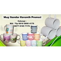 Jual  Mug Standar Keramik Promosi Barang Promosi Perusahaan 2