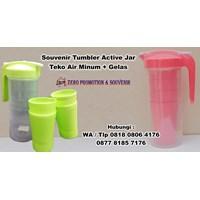 Jual Souvenir Tumbler Active Jar  Barang Promosi Perusahaan 2
