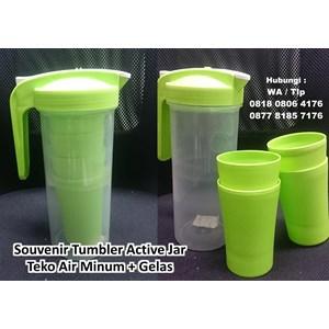Souvenir Tumbler Active Jar  Barang Promosi Perusahaan