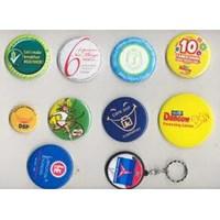 Distributor Barang Promosi Perusahaan Cetak Pin Gantungan Kunci 1 Muka  3