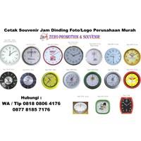 Distributor Pusat Jam Dinding Sablon Termurah Tangerang Jam Promosi  3