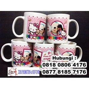 Mug Souvenir Ulang Tahun Anak Mug Promosi