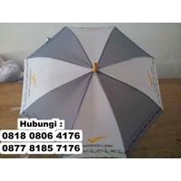 Distributor Payung Promosi Standar Kombinasi Warna Bisa Sablon Logo  3