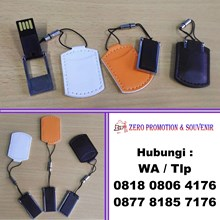 Usb Flash Disk Kulit Pouch Fdlt28 - Usb Kulit Chip