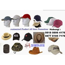 Pusat Produksi Souvenir Merchandise Topi Promosi D