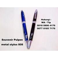 Barang Promosi Perusahaan Souvenir Pulpen Metal Stylus 808