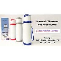 Jual Barang Promosi Perusahaan Souvenir Thermos Pot Rose 500Ml  2