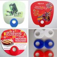 Barang Promosi Perusahaan Souvenir Kipas Promosi Kipas Gagang Bulat  1