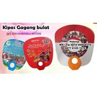 Jual Barang Promosi Perusahaan Souvenir Kipas Promosi Kipas Gagang Bulat  2