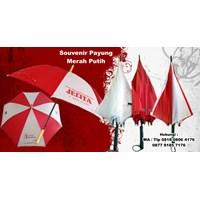 Souvenir Payung Promosi Merah Putih 17 Agustus