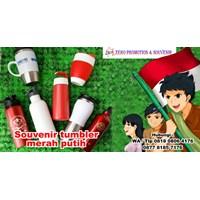 Barang Promosi Perusahaan Souvenir Tumbler Merah Putih