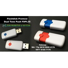 Usb Flash Disk Promosi Dual Tone Push Fdpl35