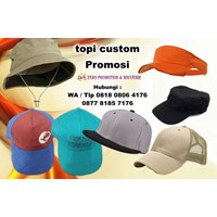 Jual Jasa Pembuatan Topi Promosi Souvenir Topi Custom Murah 2