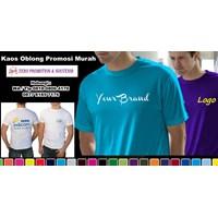 Jual Buat Kaos Oblong Promosi Murah  Barang Promosi Perusahaan