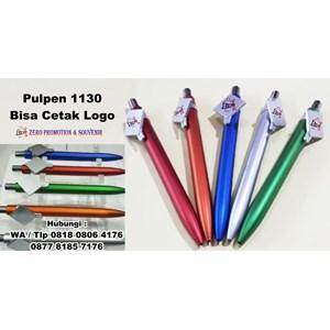 Souvenir Pulpen Plastik 1130 Bisa Cetak Logo Barang Promosi Perusahaan