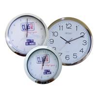 Jual Produksi Jam Dinding List Chrome Stainless Jam Promosi e06555da70