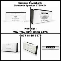 Barang Promosi Perusahaan Powerbank Dengan Bluetooth Speaker Btspk04 1