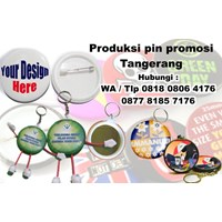 Barang Promosi Perusahaan Produksi Pin Gantungan Kunci Pin