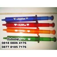 Distributor  Barang Promosi Perusahaan Souvenir Pulpen Suntik  3