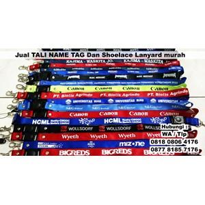 Tali Name Tag Dan Shoelace Lanyard Barang Promosi Perusahaan