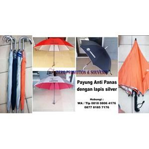 Payung  Promosi Anti Panas Dengan Lapis Silver