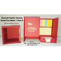 Distributor  Barang Promosi Perusahaan Custom Kotak Pen Memo Post It  3