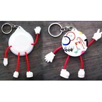 Beli  Barang Promosi Perusahaan Gantungan Kunci Pin Kaki Tangan 4