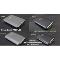 Barang Promosi Perusahaan Souvenir Powerbank Plastik 7800Mah P78pl20  1