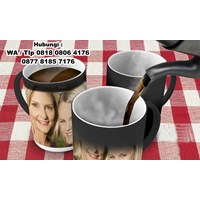 Mug Bunglon Foto Sablon Digital Mug Promosi Magic  1