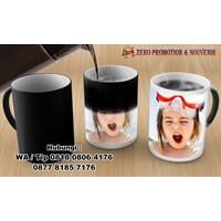 Beli Mug Bunglon Foto Sablon Digital Mug Promosi Magic  4