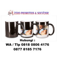 Distributor Mug Bunglon Foto Sablon Digital Mug Promosi Magic  3