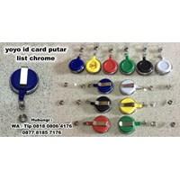 Beli  Barang Promosi Perusahaan Yoyo Id Card Putar List Chrome  4