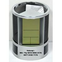 Distributor  Jam Promosi Pen Holder Desk Clock Jhl 2668  3